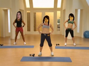 i work out