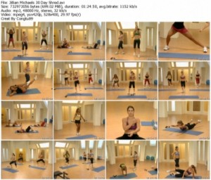 Jillian Michaels - 30 Day Shred Workout (2009)-